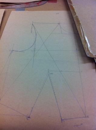Initial Bodice Pattern