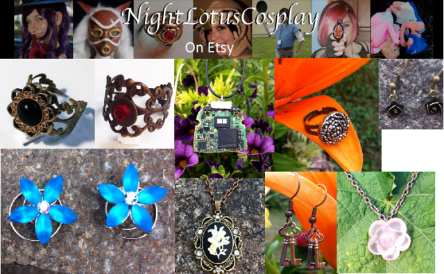 nightlotuscosplay On Etsy