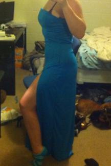 First Under Dress